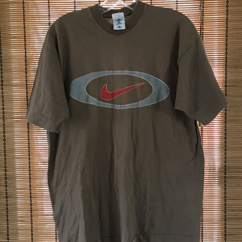 a222557b @vintagevacation789. 29 days ago. Mililani, United States. Vintage 1990's NIKE  T Shirt Boot Made In USA Single Stich XL Swoosh