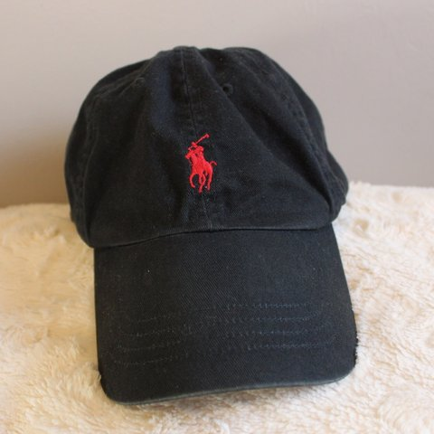45232a7bc Classic black   red Polo Ralph Lauren baseball cap
