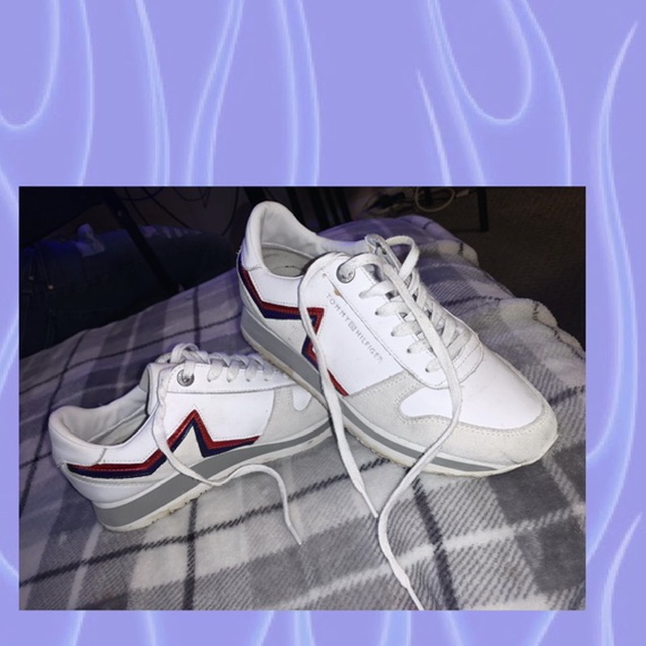 Tommy Hilfiger trainers Size 5 Open to