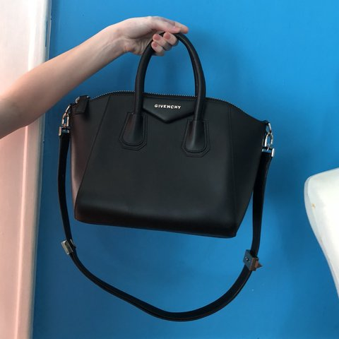 02a9c5a58a @parkerlovebowling. 4 months ago. Los Angeles, United States. Givenchy  Antigona Small Sugar Bag. Perfect condition. Price reflects authenticity