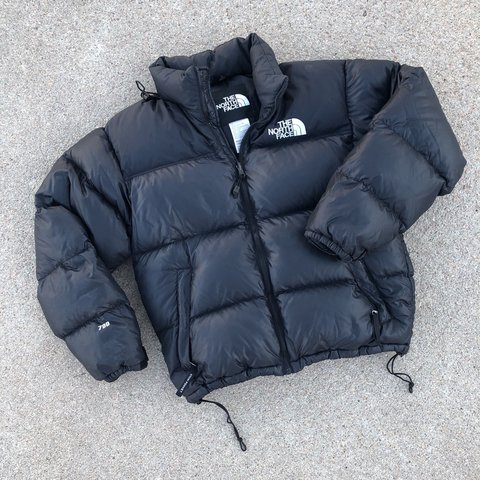 a4c211655d The North Face 700 Goose Down Nuptse Black Puffy Puffer Down - Depop