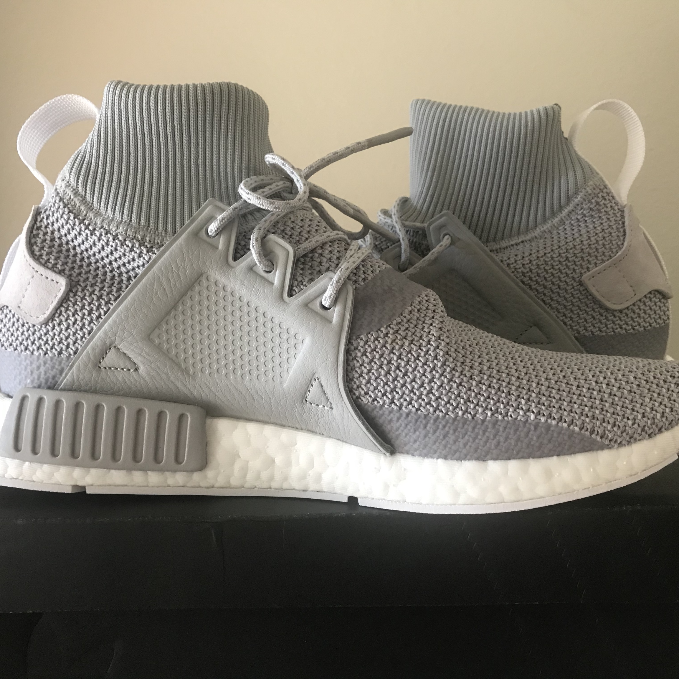 Adidas Nmd Xr1 Grey Size 10 Us Brand New With Tags Depop