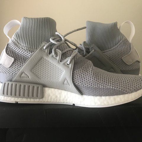 e24cc150bf743 Adidas NMD XR1 Grey Size 10 US Brand New With Tags And - Depop
