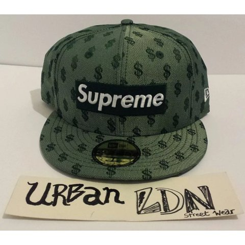 16019857 @urbanldn_. 19 days ago. London, United Kingdom. Supreme X New Era Monogram  BoxLogo 59Fifty Cap Hat