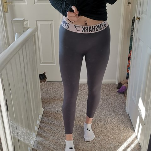 e74a0a110ab8c @_becky_mcleer_. last month. West Sussex, United Kingdom. REDUCED!! Grey  and pink gymshark leggings. Great condition ...