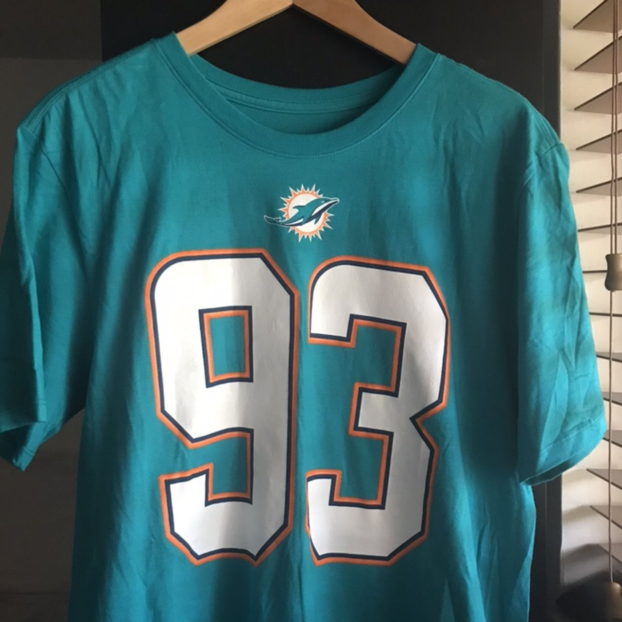 Nike NFL Dolphins Suh Jersey Shirt -Men s Size L -Very good - Depop ef660fed9
