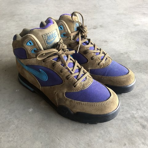"""new style 927db 1d1ec Vintage 1992 Nike """"Caldera Plus"""" Suede Hiking Boots! 🔥 in 9"""