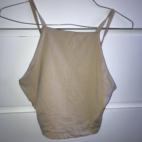 0f805ffdd6 KOOKAI NUDE CROP - Good condition only worn once - Size but - Depop