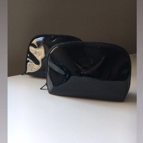 358cb9cd6ff8be @rebekkapro. 4 months ago. Toronto, Canada. 🖤Two Chanel cosmetic bags🖤 Very  convenient shape ...