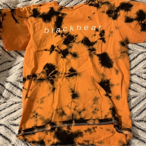 e155aa5948bb @elladrebitko. 2 months ago. Cary, United States. limited edition blackbear  black & orange tye dye tee! great condition only worn once ...