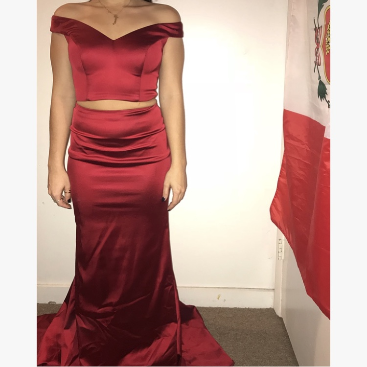 Red Sherri Hill Prom Dress Size 0 Worn Once