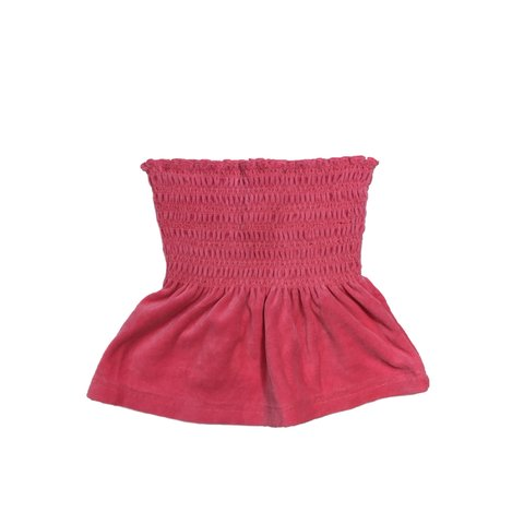 c9bd7a45cadd3 @sundaymorningrainbow. 27 minutes ago. United States. So cute pink strapless  top by Juicy Couture. Made ...