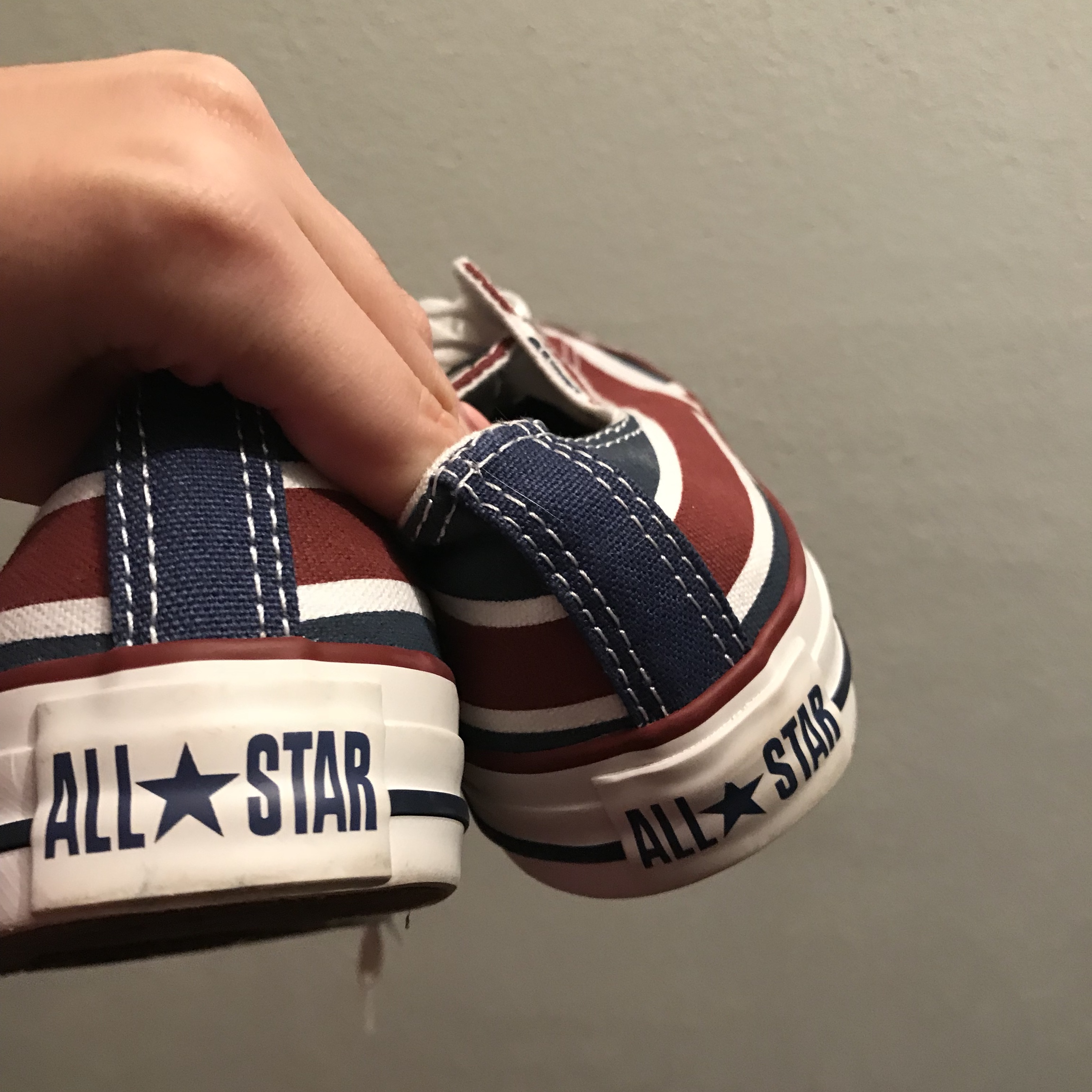 converse all star bandiera inglese