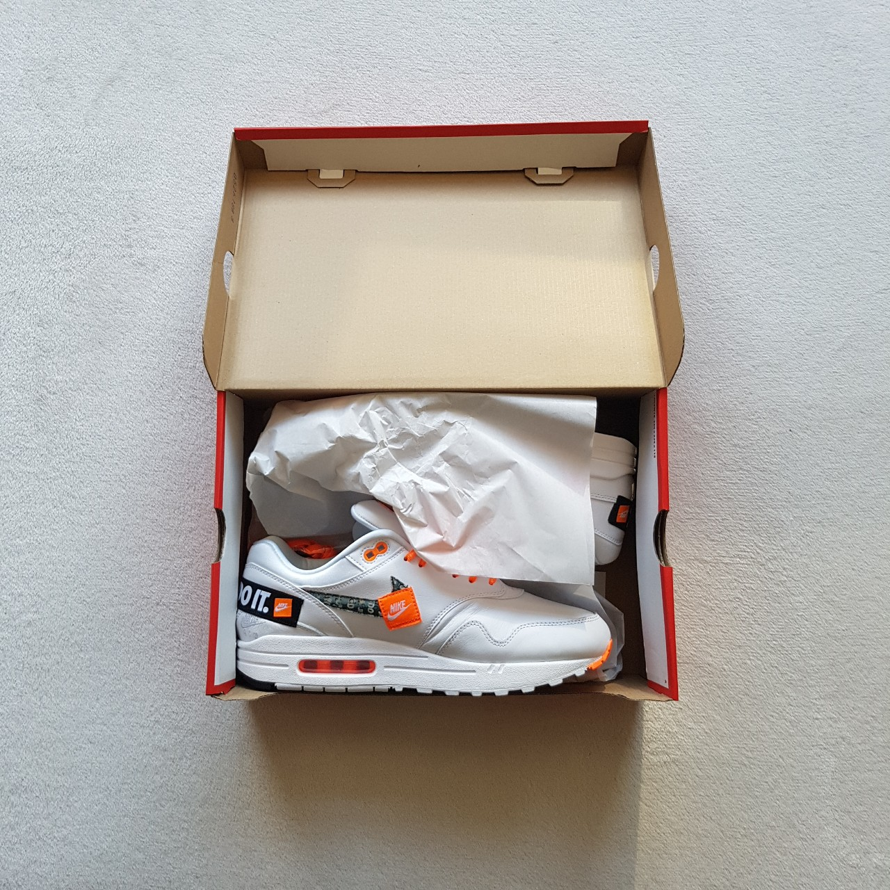 Nike Air Max 1 Flooded Just Do It Pack UK9 true to Depop