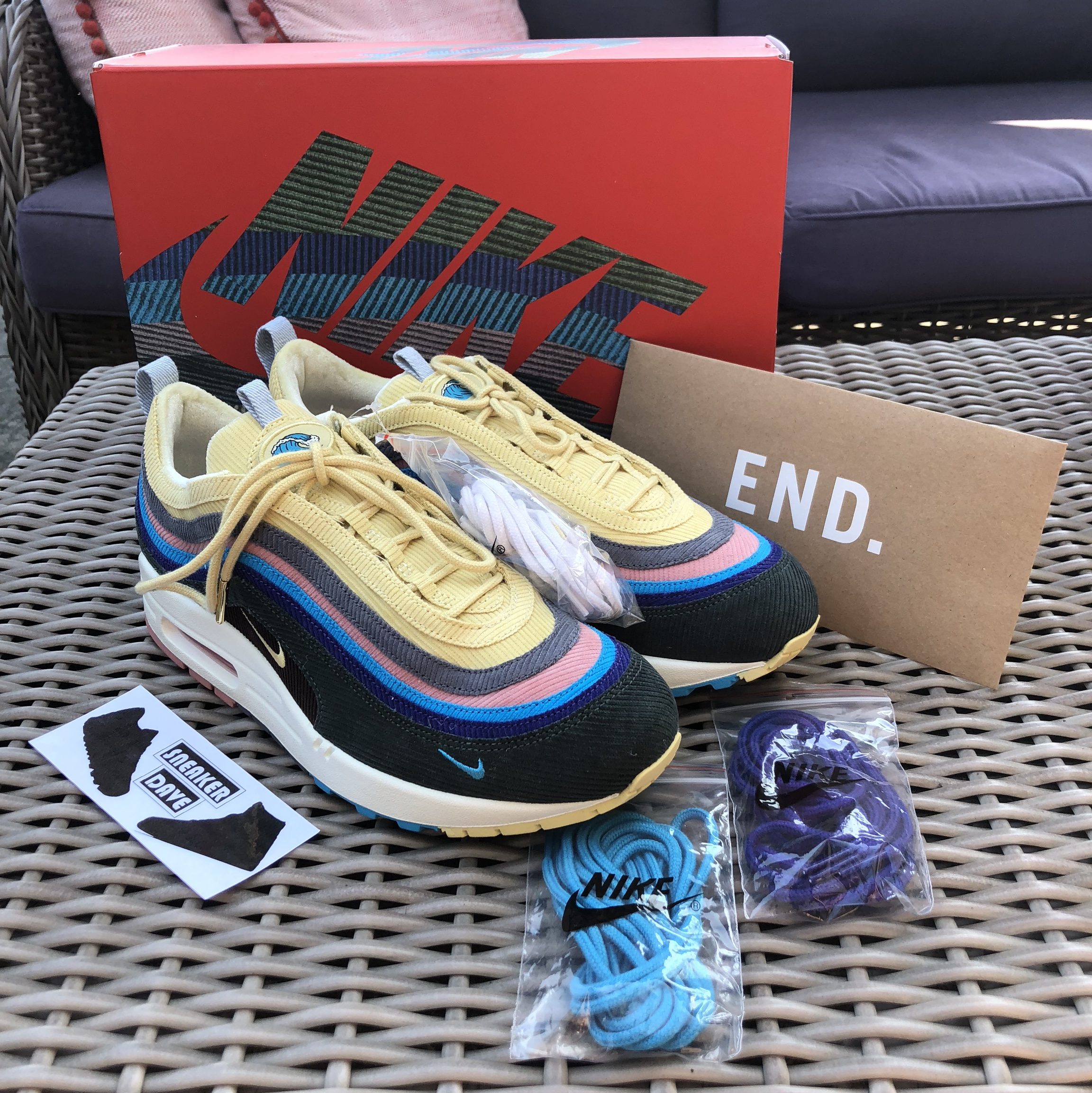 Nike Air Max 971 Sean Wotherspoon Deadstock with Depop