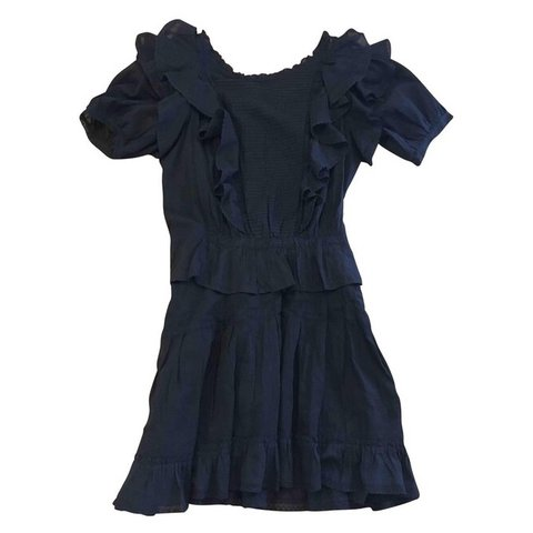 82812161e79 REDUCED Isabel Marant Et Toile black Naoko dress. Black and - Depop