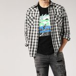 bd7fb97232f Men s authentic Diesel checked s-east-ch
