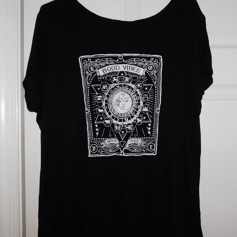 Rue 21 Good Vibes T Shirt Plus Size Resale Price Soft And Depop