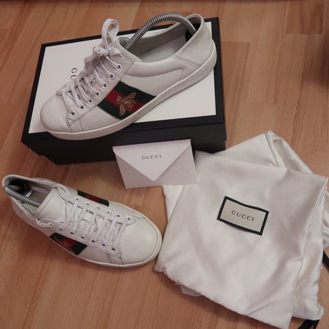 28b892572ab Authentic Gucci Ace trainers