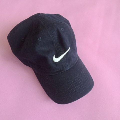 ccfba37a162b9 Navy blue Nike baseball cap One size (adjustable Shipping  - Depop