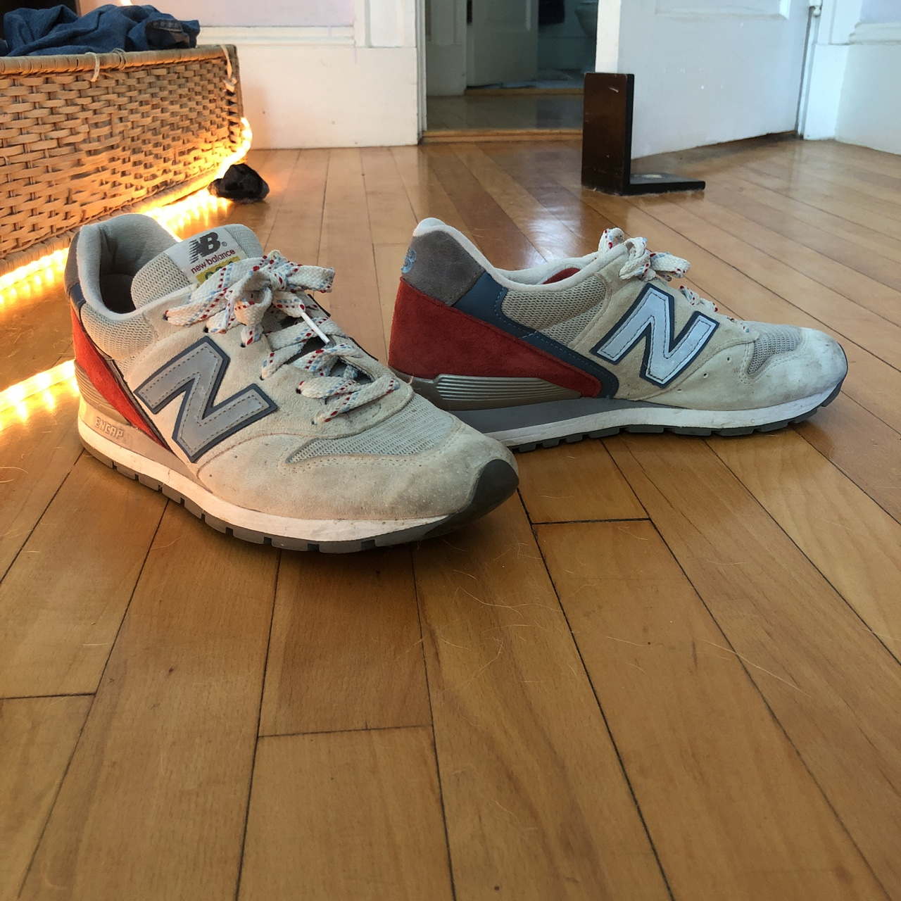 online store aa48f 9db96 new balance 996 made in USA D M996PD men's US7.5... - Depop