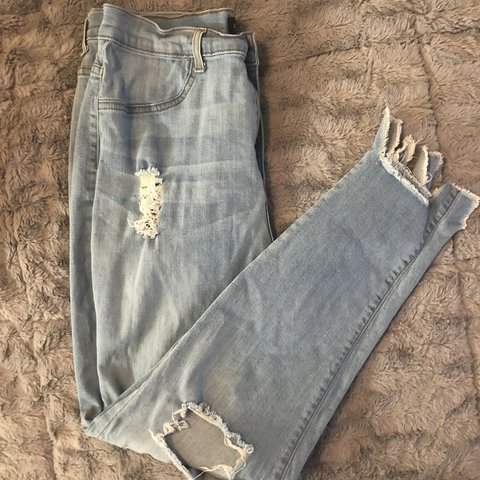 5546dd38a33 Fashion Nova Plus Size Distressed Denim Jeans 👖💕 Size  a - Depop