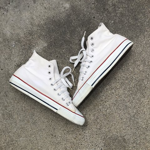 f4da56b38592 Converse Made in USA Size 8 (fits 9) Condition is PRICES - Depop