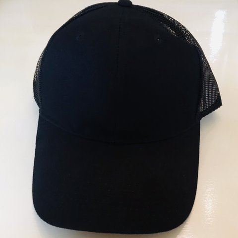 0d18d8ff0cc6a Here s a new-vintage unused black snap back