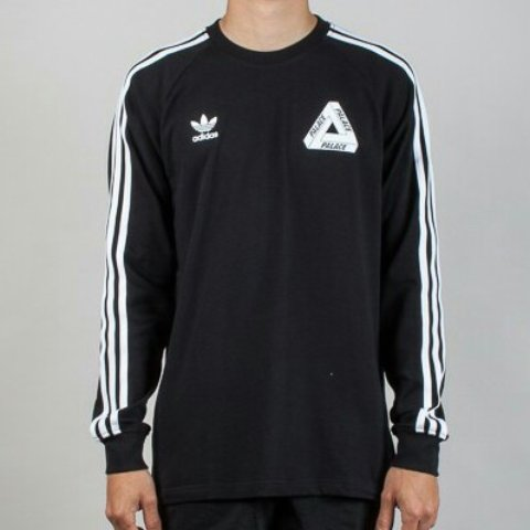 acae0a534 Palace x Adidas Black Longsleeve Size Medium, BNWT/DS. took - Depop