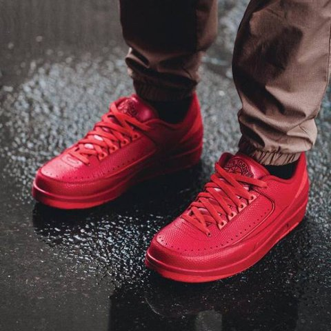 b2626950f6f9ec Nike Air Jordan 2 Retro - Low Gym Red - Brand new   Never to - Depop