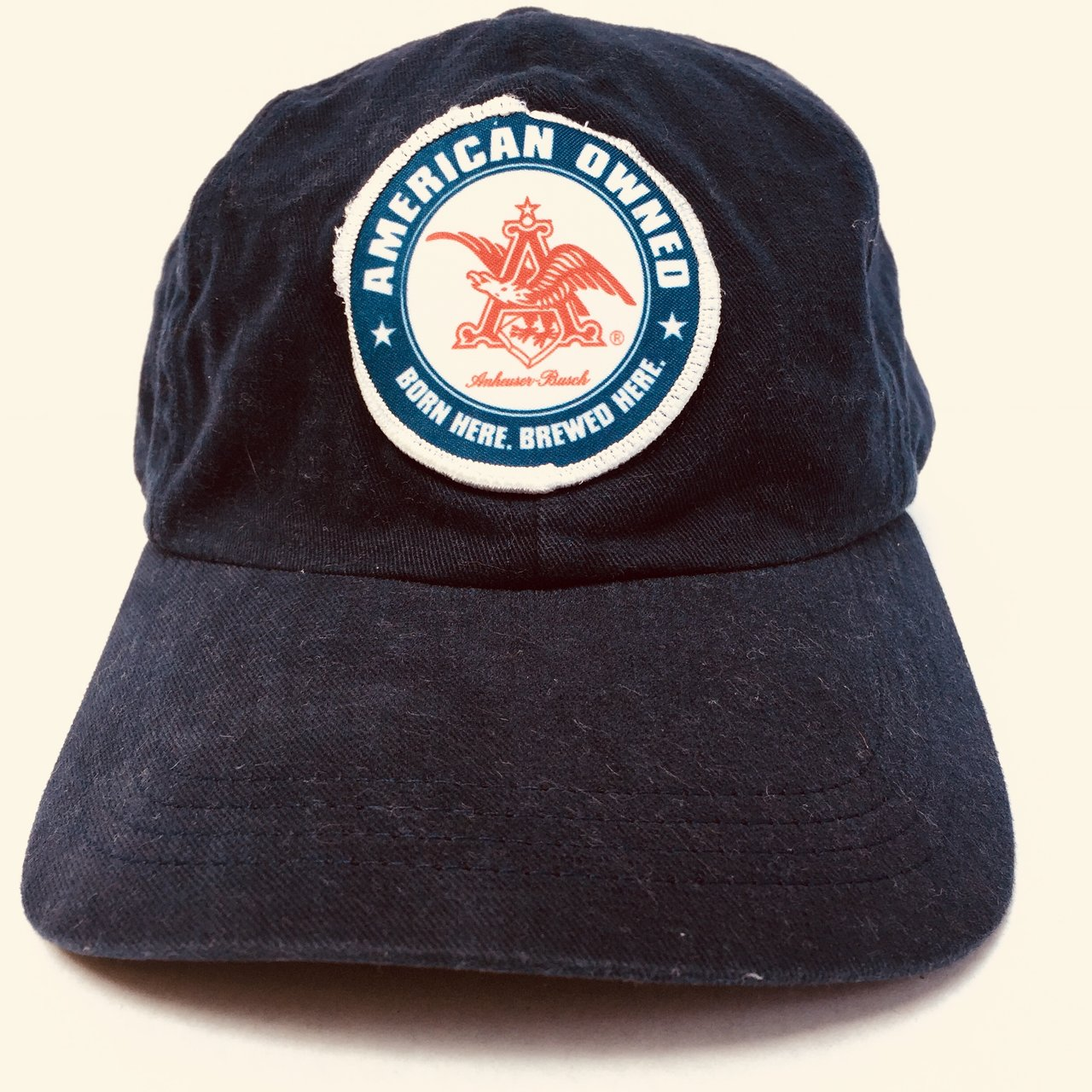 Blue Budweiser Dad Hat Vintage! SHIPPING 54d416002120