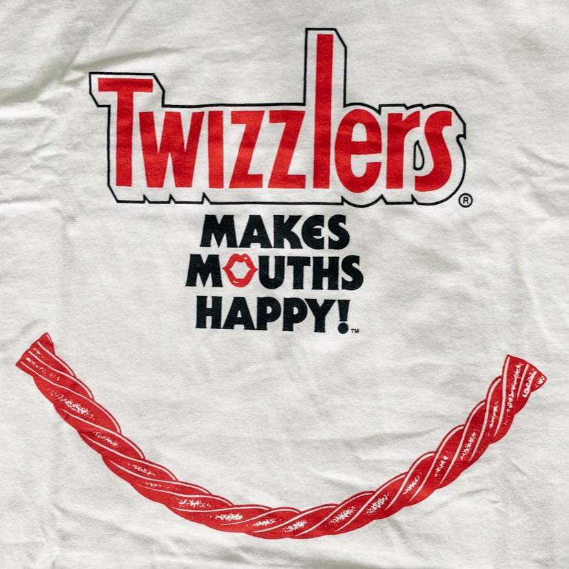 Vintage Russell Athletic Twizzlers Graphic    - Depop