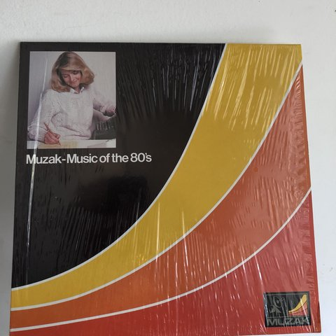 Muzak- Music of the 80's record Vinyal very slightly    - Depop