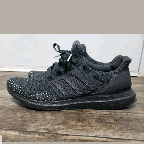 92bd0960cd551 Adidas Ultra Boost Clima primeknit triple Black men sz 10 - Depop