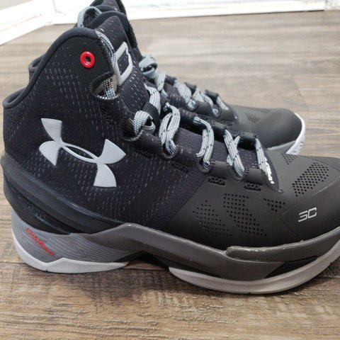 b9353f3bb4b8 Under Armour Curry 2 The Professional Stealth Black tuxedo 8 - Depop