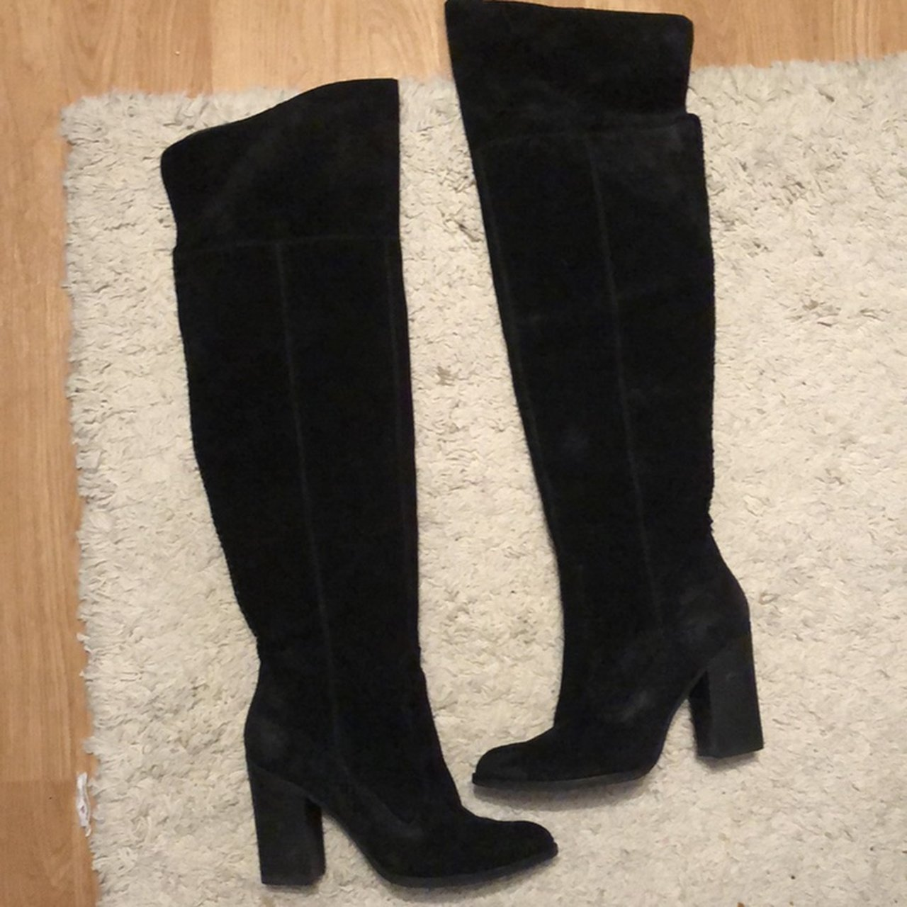 19322bea5da Dolce Vita Cliff Over the Knee Boots. Heavy duty suede over - Depop
