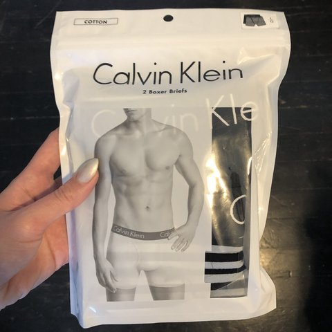 c3ddf9260 Calvin klein new with tags size large boxer briefs. 1 solid - Depop