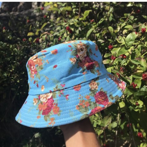 a12cb006c7d Stunning Floral Bucket Hat (unisex) Add some Colour to - Depop