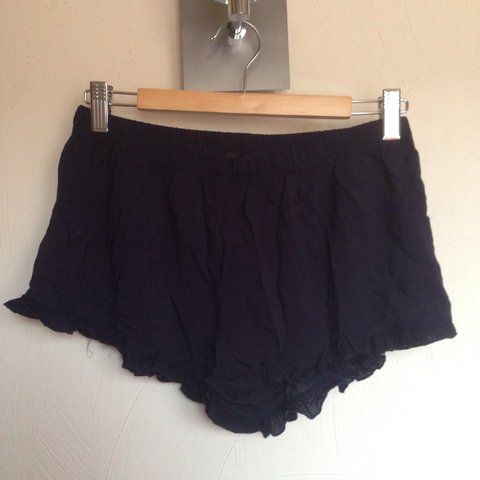 5b24ee82d37482 Navy blue Brandy Melville dupe shorts from Forever 21 - the - Depop