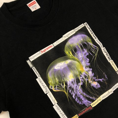 4a4db4b19152 @definitehype. last year. Spokane Valley, United States. Supreme Jellyfish  Tee