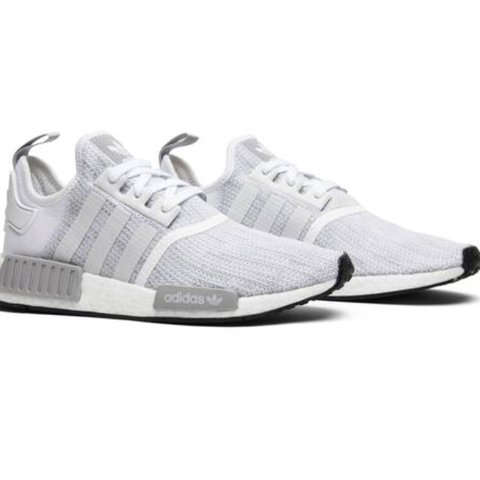 "6e2de895881 Adidas NMD R1 ""Blizzard"" Dead Stock COLOR  8.5 Dead Box - Depop"