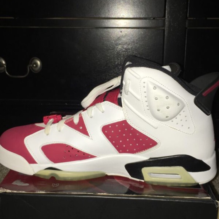 various colors 72fee 783e7 FOR SALE IS A PAIR OF JORDAN 6 CARMINE 2008 DMP IN ...