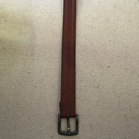 d11fdc785fac6 Good condition. Real leather belt. Made in India - Depop