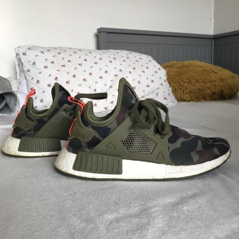 948f456248acf Adidas NMD boost camo Barely worn - good condition Open to - Depop