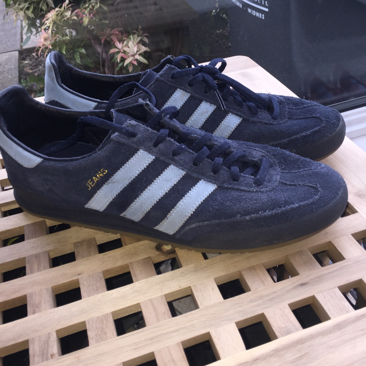 Adidas jeans trainers uk size 10.5