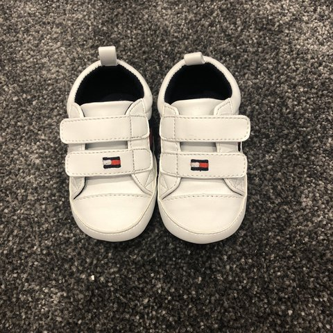 4d26158b @paigemchenry. 9 months ago. London, United Kingdom. Baby boy Tommy  Hilfiger shoes size 1.5 ...