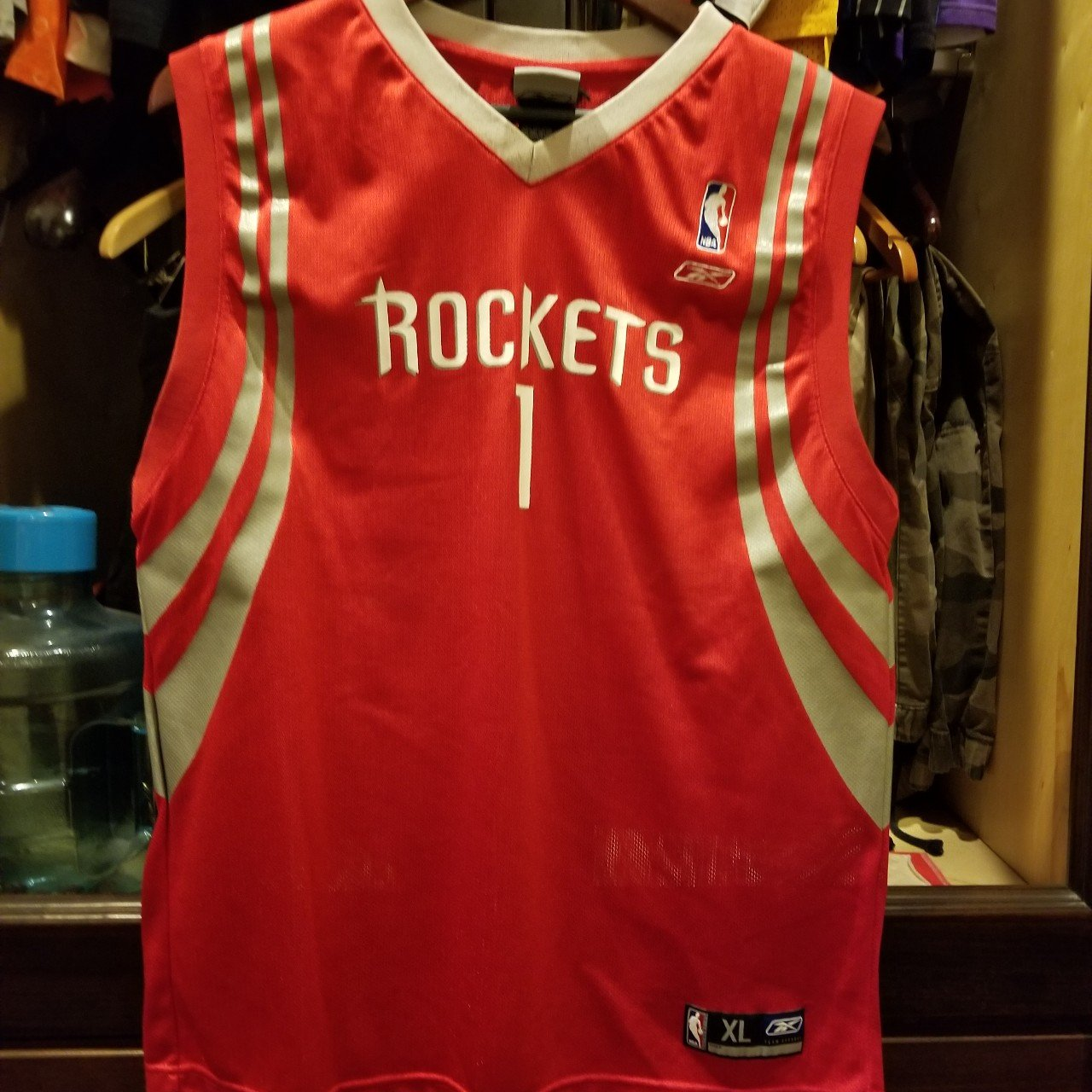 Vintage Reebok NBA Houston Rockets Tracy McGrady Jersey. In - Depop cc0308581