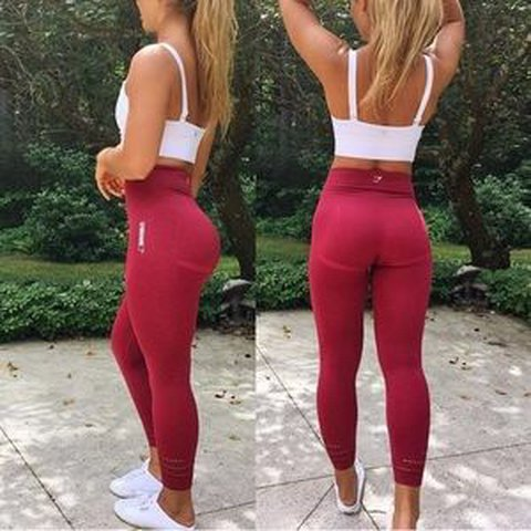 d10cf52515318 @beccaaaaaaaaaaaaa. last year. Bournemouth, United Kingdom. Gymshark Beet  Seamless High Waisted Seamless Leggings ...