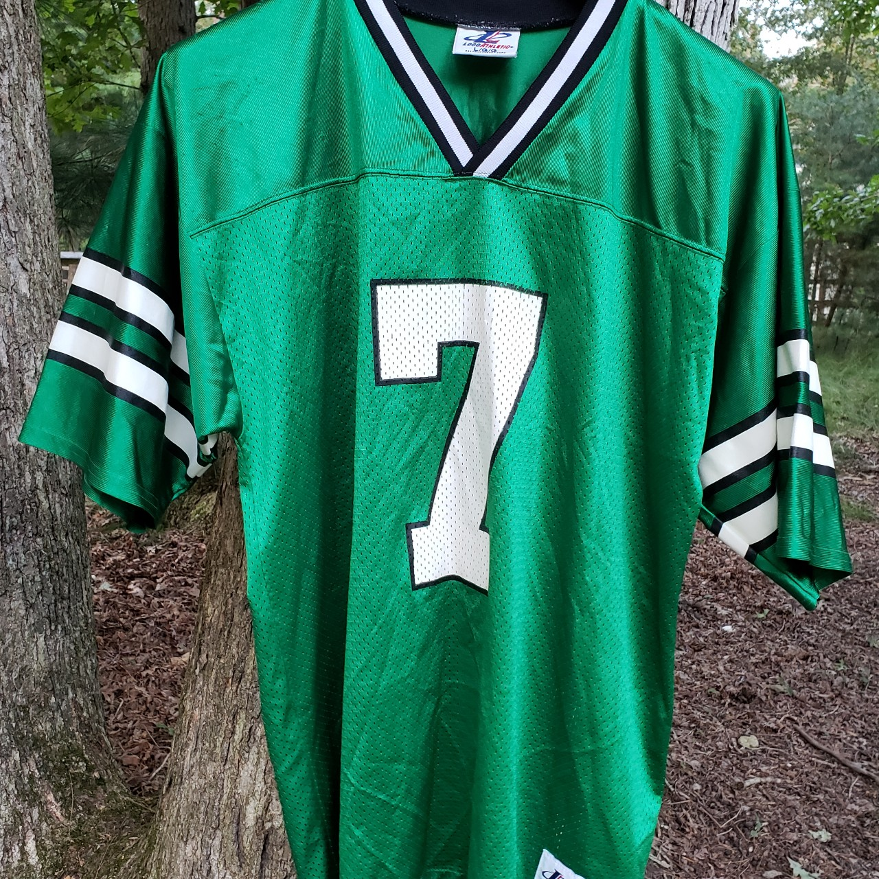new styles 614f0 4b10d Vintage 1990s Boomer Esiason New York Jets Jersey... - Depop