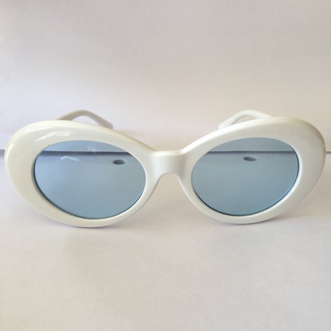 573929986a00b 😎White and Blue Clout Goggles Sunglasses😎 •Brand   summer - Depop